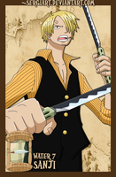 EPP - Water 7: Sanji by SergiART
