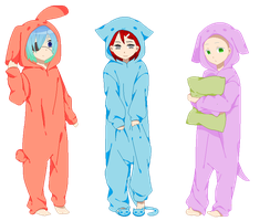 .:Animal Pajamas Collab:. -Closed- by fourstardragonball