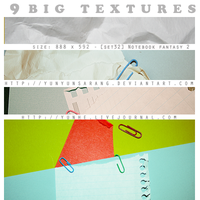9 big textures - notebook 2 by yunyunsarang