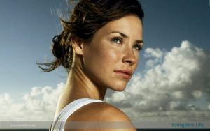 Evangeline Lilly Wallpaper by kcaudesign