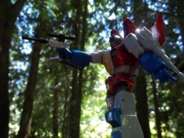 Starscream In The Woods by ImmortalSpark