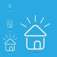 Free Vector of the Day #186: Home Icons by cristina012