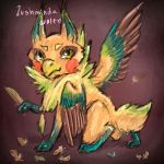 Gryphakeet by LushmindaWolf