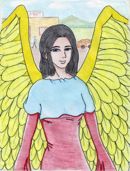 Foreign Angel by Ace Dryad by AUTISTOFTHEROUND