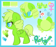 Simple Pear Bloom Reference by LoreHoshiko