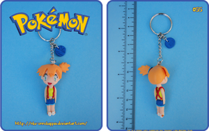 Pokemon - Misty Keychain by Nko-ennekappao