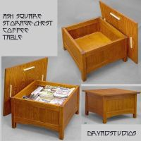 Storage chest-coffee table by DryadStudios
