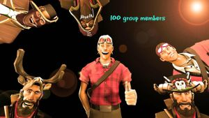 100 Group members [SFM] by TZ-The-SFM-Mage