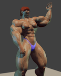 Flex (animated) by CliveUndertaker