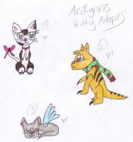1 pt Kitten Adopts by Endeavor4ever