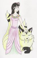 Sango for Urd-chan's Contest by LunaWolf8907