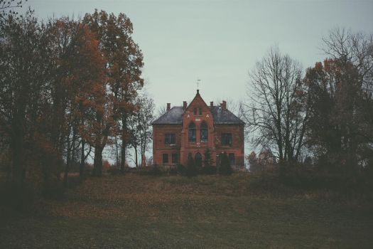 the house smelled musty and damp... by Laura-Elizabete