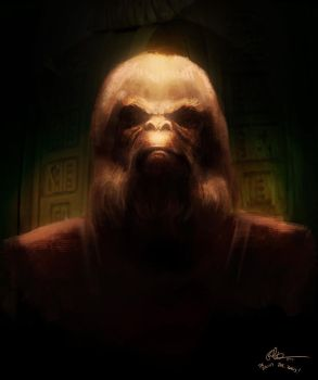 Dr. Zaius by lord-phillock