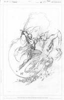 Godsend Cover 3 pencils by KenHunt