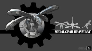 Metal Gear Heavy Ray by gtgv