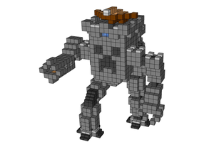 minecraft robot blueprints by x-Andy-Sixx-x
