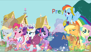 My Little Pony Gala Cast Picture by isaiahcow1