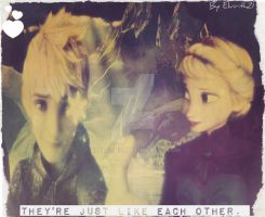 Jelsa: Just like each other by Elvirith21