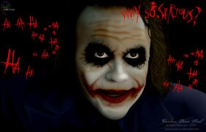 Why so Serious? by pixellorac
