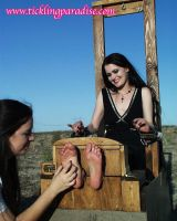 Gothic Soles Tickled 18 by jason9800player2