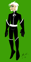 Danny Phantom suit redesign by The-Clockwork-Crow