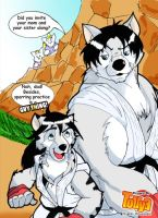 Luc and Touya by greatwuff