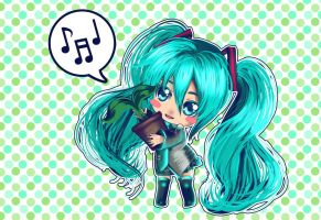 Chibi Miku by nicegal1