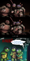 TMNT -  Big Brothers by Myrling
