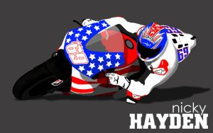 Hayden Ducati by Asher46