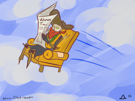 No sir, not getting out of this chair by healerdoc