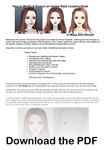 How to Model and Texture an Anime Character Maya by Athey