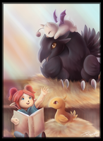 Story telling: FFXI CONTEST by RinTheYordle