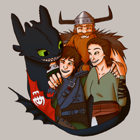 We Are Family by Abiigaee