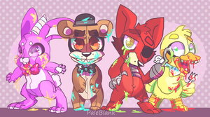 Five Nights at Freddy's by PaleBlank