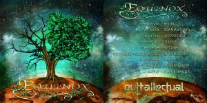 Front and Back CD cover design - Equinox by Nonsense-Prophet