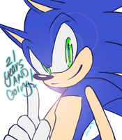 Happy Birthday, Sonic the Hedgehog by DawnValentine101