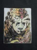 DOCTOR WHO - Intaglio Zygon (coloured) by DrWho50thAnniversary