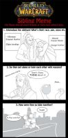 Warcraft Sibling Meme - Alkrenon and Mikaeel by Iseijin