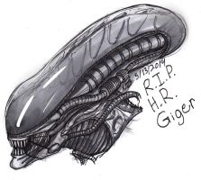 Rest in Peace H.R. Giger. by ConstantM0tion