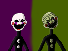 The puppets by MrSheep7