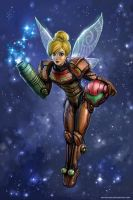 Samus Aran Is Tinker Bell by SirTiefling