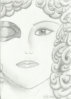 River Song with Eyepatch by SmallBell
