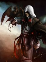 Ezio - Assassins Creed by crazypalette