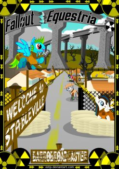 Fallout Equestria: WElcome to Stableville cover by Eztp