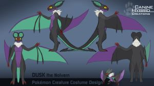 Noivern Costume Design by CanineHybrid