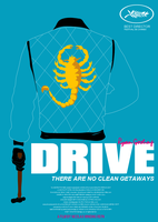 Drive's DVD cover by ian-fremont
