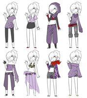 Outfits for Rin by Kuromitu