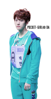 EXO-K Baekhyun MBC Idol Star Athletics Render by pocket-girl