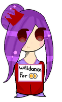 Will dance for points~ by ExGamerChan