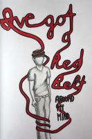 Red Belt by FrankTheSixFootBunny